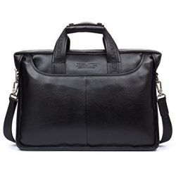 BOSTANTEN Leather Briefcase Business Bags for Men