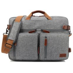 CoolBELL Convertible Backpack and Laptop Messenger Bag - 17""