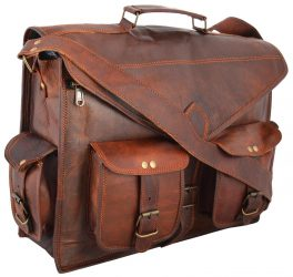 Handmadecraft Leather Messenger Bag and Briefcase for Laptop