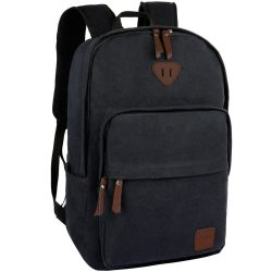 Ibagbar Vintage Canvas Backpack Rucksack Laptop Bag