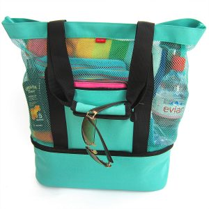 Odyseaco Aruba Beach Tote Bag Insulated Cooler
