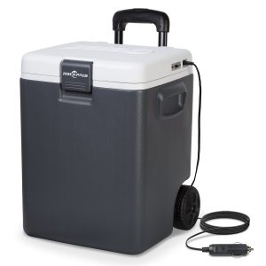 Rockpals 30-Quart Electric Beach Cooler