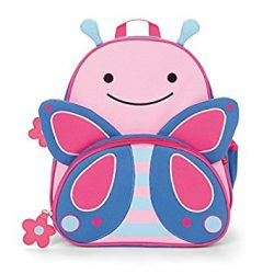 Skip Hop Zoo Toddler Kids Insulated Backpack and Lunch Box