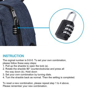 mancro backpack review anti theft lock