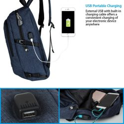 mancro backpack review charging usb port